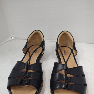 Primary Photo - BRAND: EARTH STYLE: SANDALS FLAT COLOR: BLACK SIZE: 8.5 OTHER INFO: NEW! SKU: 133-13373-13864NEW NO TAGS