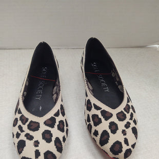 Primary Photo - BRAND: SOLE SOCIETY STYLE: SHOES FLATS COLOR: ANIMAL PRINT SIZE: 8 SKU: 133-13316-115867