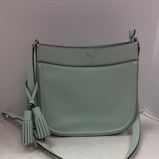 Primary Photo - BRAND: KATE SPADE STYLE: HANDBAG DESIGNER COLOR: MINT SIZE: MEDIUM SKU: 133-13316-109519KATE SPADE , HENSLEY, ORCHARD STREET, MISTY GREEN LEATHERORIGINAL RETAIL $429GOOD PRE OWNED CONDITION - LIGHT SIGNS OF WEAR AS SHOWN IN LAST PHOTO