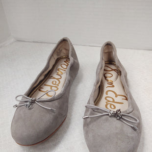 Primary Photo - BRAND: SAM EDELMAN STYLE: SHOES FLATS COLOR: GREY SIZE: 6 OTHER INFO: NEW! SKU: 133-13374-1542