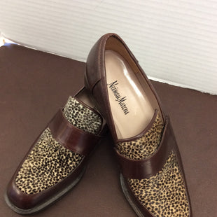 Primary Photo - BRAND: NEIMAN MARCUS STYLE: SHOES FLATS COLOR: LEOPARD PRINT SIZE: 7 SKU: 133-13344-36803
