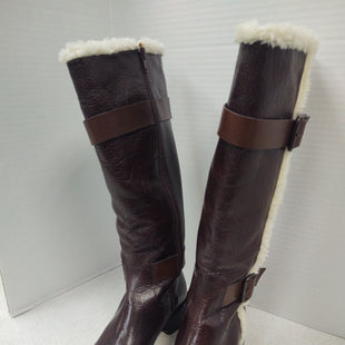Primary Photo - BRAND: BANANA REPUBLIC STYLE: BOOTS KNEE COLOR: BROWN SIZE: 6.5 OTHER INFO: NEW! SKU: 133-13341-43682