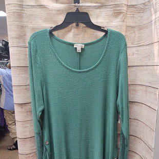 Primary Photo - BRAND: WORLD UNITY STYLE: TOP LONG SLEEVE COLOR: GREEN SIZE: XL SKU: 133-13377-1427