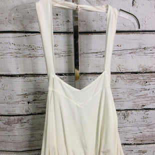 Primary Photo - BRAND: FREE PEOPLE STYLE: TOP SLEEVELESS COLOR: CREAM SIZE: S SKU: 133-13371-14235