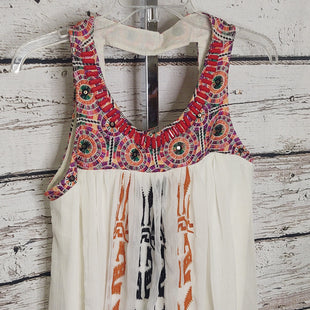 Primary Photo - BRAND: ANTHROPOLOGIE STYLE: TOP SLEEVELESS COLOR: CREAM SIZE: S SKU: 133-13341-45678