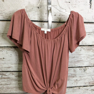 Primary Photo - BRAND: ACTIVE USA STYLE: TOP SHORT SLEEVE COLOR: DUSTY PINK SIZE: M SKU: 133-13350-41489
