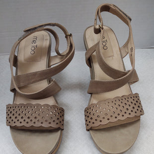 Primary Photo - BRAND: ME TOO STYLE: SANDALS HIGH COLOR: TAN SIZE: 9 SKU: 133-13341-41906