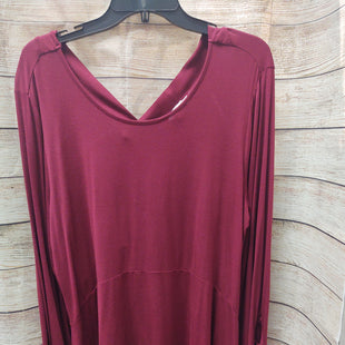 Primary Photo - BRAND: SIMPLY NOELLE STYLE: TOP LONG SLEEVE COLOR: RED SIZE: XL SKU: 133-13316-113703