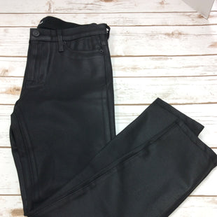 "Primary Photo - BRAND: HUDSON STYLE: PANTS COLOR: BLACK SIZE: 8 SKU: 133-13371-12613FUN SHINY AND OH SO STRETCHY ""NICO"" MID RISE SUPER SKINNY BLACK STRETCH JEAN."