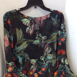 Primary Photo - BRAND: KAREN KANE STYLE: TOP LONG SLEEVE COLOR: FLORAL SIZE: M SKU: 133-13316-108587SO MANY OPTIONS WITH THIS LOVELY SATURATED COLOR FLORAL PRINT BLOUSE AND DON'T YOU JUST LOVE THE BELL SLEEVES!