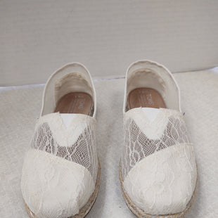 Primary Photo - BRAND: TOMS STYLE: SHOES FLATS COLOR: CREAM SIZE: 6.5 SKU: 133-13377-1611