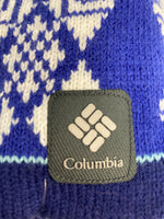 Photo #2 - BRAND: COLUMBIA <BR>STYLE: HAT <BR>COLOR: BLUE <BR>SKU: 133-13316-109120<BR>OMNI HEAT AND FLEECE LINED
