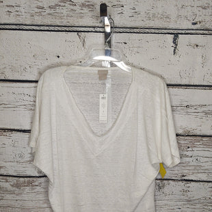 Primary Photo - BRAND: CHICOS STYLE: TOP SHORT SLEEVE COLOR: OFF WHITE SIZE: XL OTHER INFO: NEW! SKU: 133-13371-15170
