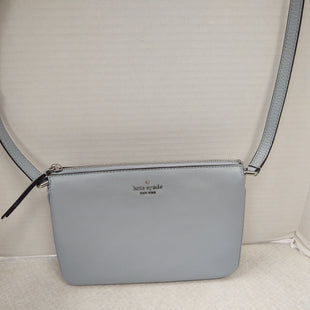 Primary Photo - BRAND: KATE SPADE STYLE: HANDBAG DESIGNER COLOR: POWDER BLUE SIZE: MEDIUM OTHER INFO: NEW!  TRIPLE GUSSET CROSSBODY SKU: 133-13350-41571