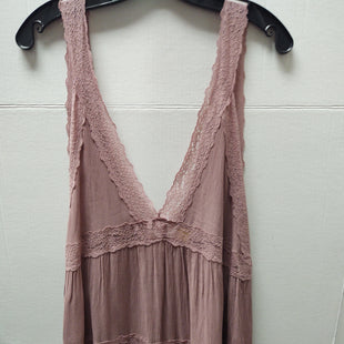 Primary Photo - BRAND: FREE PEOPLE STYLE: TUNIC SHORT SLEEVE COLOR: PINK SIZE: M SKU: 133-13374-2202