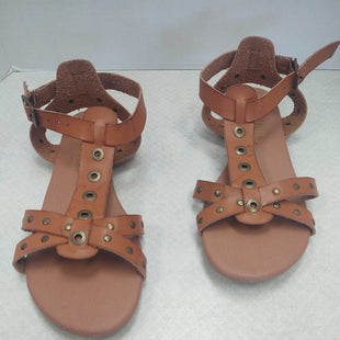 Primary Photo - BRAND: COCONUTS STYLE: SANDALS FLAT COLOR: TAN SIZE: 9 SKU: 133-13350-37075