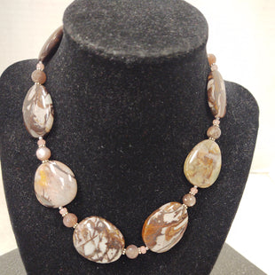 Primary Photo - BRAND:  CMB STYLE: NECKLACE COLOR: BROWN OTHER INFO: ARTISAN JASPER, QUARTZ, MOONSTONE - SKU: 133-13371-13733