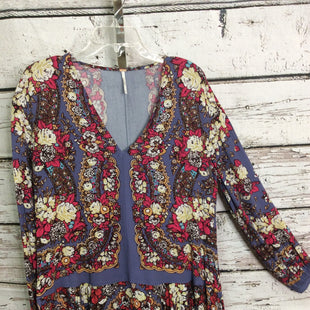 Primary Photo - BRAND: FREE PEOPLE STYLE: TUNIC LONG SLEEVE COLOR: FLORAL SIZE: S SKU: 133-13355-35370