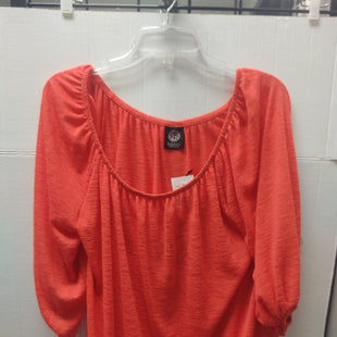 Primary Photo - BRAND: BOBEAU STYLE: TOP LONG SLEEVE COLOR: ORANGE SIZE: L OTHER INFO: NEW! SKU: 133-13374-1759