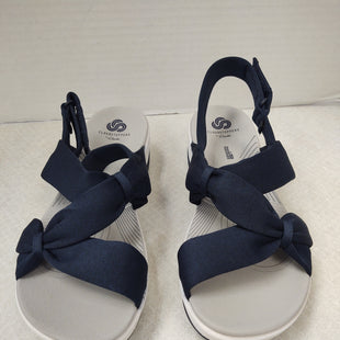 Primary Photo - BRAND: CLARKS STYLE: SANDALS LOW COLOR: NAVY SIZE: 8.5 SKU: 133-13373-13860