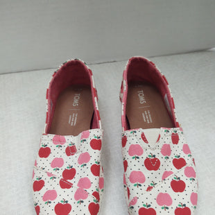 Primary Photo - BRAND: TOMS STYLE: SHOES FLATS COLOR: RED SIZE: 6.5 SKU: 133-13316-115683