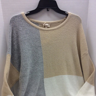 Primary Photo - BRAND: HEM & THREAD STYLE: SWEATER LIGHTWEIGHT COLOR: CREAM SIZE: M SKU: 133-13374-1657