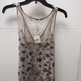 Primary Photo - BRAND: FREE PEOPLE STYLE: TOP SLEEVELESS COLOR: STONE SIZE: M OTHER INFO: NEW! SKU: 133-13350-40243