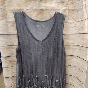 Primary Photo - BRAND: SOFT SURROUNDINGS STYLE: TOP SLEEVELESS COLOR: CHARCOAL SIZE: M SKU: 133-13350-40455