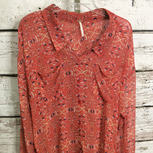 Primary Photo - BRAND: FREE PEOPLE STYLE: TOP LONG SLEEVE COLOR: RED SIZE: M SKU: 133-13316-116005