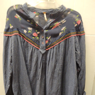Primary Photo - BRAND: FREE PEOPLE STYLE: TOP LONG SLEEVE COLOR: BLUE SIZE: M SKU: 133-13374-2205. NEW WITH TAG. .