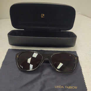 Primary Photo - BRAND: LINDA FARROW  STYLE: SUNGLASSES COLOR: GREEN OTHER INFO: LINDA FARROW - SKU: 133-13374-564