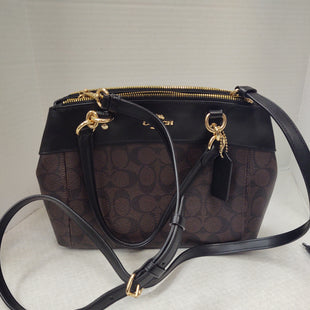 Primary Photo - BRAND: COACH O STYLE: HANDBAG DESIGNER COLOR: BLACK SIZE: MEDIUM OTHER INFO: MINI BROOKE CARRYALL SKU: 133-13355-34118