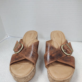 Primary Photo - BRAND: BORN STYLE: SANDALS LOW COLOR: BROWN SIZE: 8 SKU: 133-13316-115281