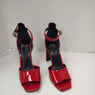 Primary Photo - BRAND: MARC FISHER STYLE: SANDALS HIGH COLOR: RED SIZE: 7 SKU: 133-13316-115540
