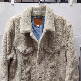 Primary Photo - BRAND: LUCKY BRAND STYLE: JACKET OUTDOOR COLOR: CREAM SIZE: XL SKU: 133-13316-112610