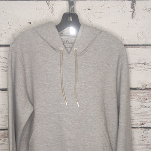 Primary Photo - BRAND: J CREW STYLE: SWEATSHIRT HOODIE COLOR: GREY SIZE: M SKU: 133-13374-2631
