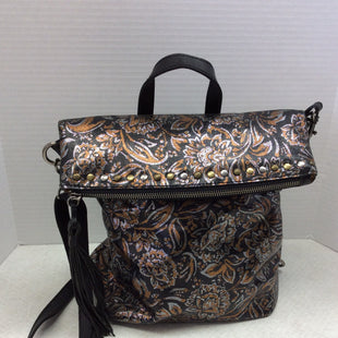 Primary Photo - BRAND: PATRICIA NASH STYLE: HANDBAG DESIGNER COLOR: BLACK SIZE: LARGE OTHER INFO: LUZILLE METALLIC ON BLACK SKU: 133-13373-12186THIS IS NOT ONLY BEAUTIFUL BUT VERSATILE BEING  A CROSSBODY THAT CONVERTS INTO A BACKPACK! SO MANY WAYS TO WEAR THIS POPULAR PATRICA NASH FAVORITE!