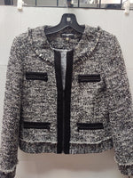 Primary Photo - BRAND: KARL LAGERFELD <BR>STYLE: BLAZER JACKET <BR>COLOR: TWEED <BR>SIZE: S <BR>SKU: 133-13344-37287