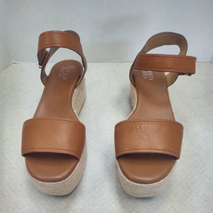 Primary Photo - BRAND: FRANCO SARTO STYLE: SANDALS HIGH COLOR: TAN SIZE: 9 SKU: 133-13316-1062192 INCH PLATFORM