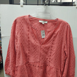 Primary Photo - BRAND: ANN TAYLOR LOFT STYLE: TOP LONG SLEEVE COLOR: CORAL SIZE: S OTHER INFO: NEW! SKU: 133-13371-14397