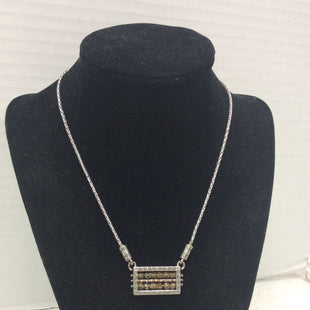 Primary Photo - BRAND: BRIGHTON O STYLE: NECKLACE COLOR: SILVER OTHER INFO: GOLD ABACUS SKU: 133-13350-39781BEADED SILVER TONE FRAME