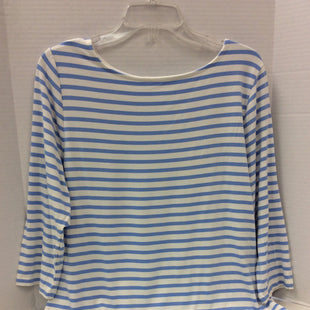 Primary Photo - BRAND: A NEW DAY STYLE: TOP LONG SLEEVE BASIC COLOR: STRIPED SIZE: XL OTHER INFO: NEW!  BLUE/WHITE SKU: 133-13350-39928