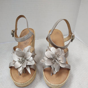 Primary Photo - BRAND: BORN STYLE: SANDALS HIGH COLOR: SILVER SIZE: 7 SKU: 133-13355-34580