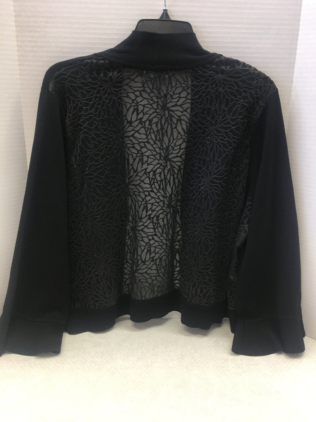 Photo #1 - BRAND: CALVIN KLEIN <BR>STYLE: SWEATER CARDIGAN LIGHTWEIGHT <BR>COLOR: BLACK <BR>SIZE: 3X <BR>OTHER INFO: NEW! <BR>SKU: 133-13316-104994