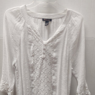 Primary Photo - BRAND: BY DESIGN STYLE: TOP LONG SLEEVE COLOR: WHITE SIZE: L SKU: 133-13374-1572