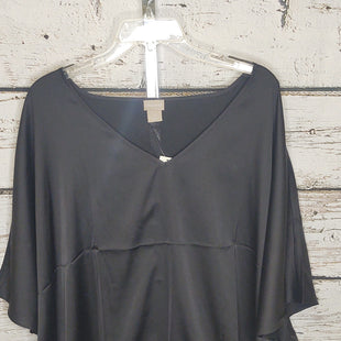 Primary Photo - BRAND: CHICOS STYLE: TOP SHORT SLEEVE COLOR: BLACK SIZE: XL OTHER INFO: NEW! SKU: 133-13371-15174