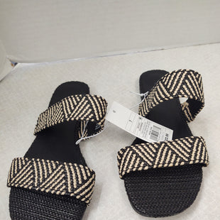 Primary Photo - BRAND: UNIVERSAL THREAD STYLE: SANDALS FLAT COLOR: ZEBRA PRINT SIZE: 7 SKU: 133-13371-14331