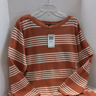 Primary Photo - BRAND: JEANNE PIERRE STYLE: TOP LONG SLEEVE COLOR: STRIPED SIZE: 2X OTHER INFO: NEW SKU: 133-13344-37587