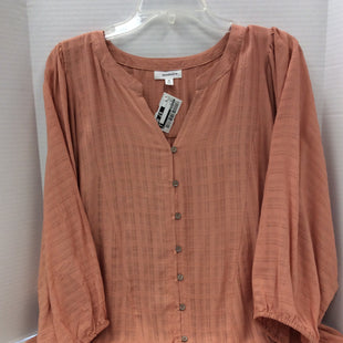 Primary Photo - BRAND: EYESHADOW STYLE: TOP LONG SLEEVE COLOR: RUST SIZE: XL SKU: 133-13316-110440