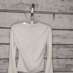Primary Photo - BRAND: MILLY STYLE: SWEATER LIGHTWEIGHT COLOR: OFF WHITE SIZE: S SKU: 133-13316-116180